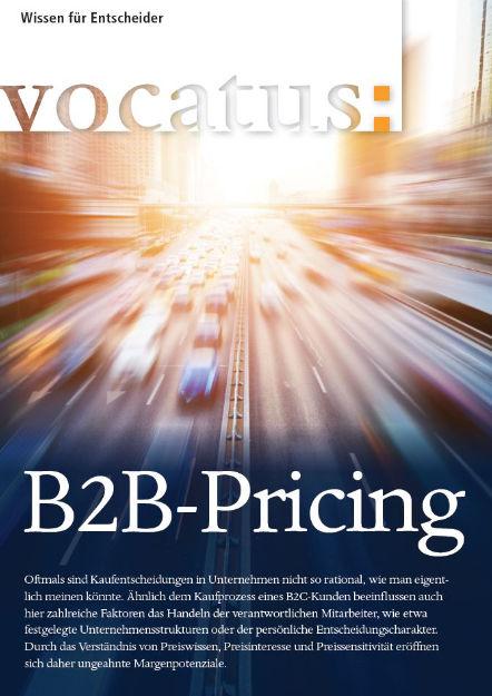 Wissen für Entscheider - B2B-Pricing - Preisstrategie, Vertriebsoptimierung, Behavioral Economics