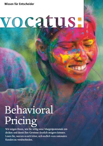 Wissen für Entscheider - Behavioral Pricing - Preisstrategie, Vertriebsoptimierung, Behavioral Economics