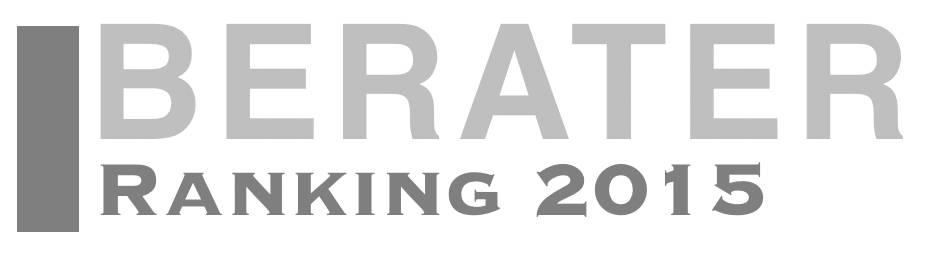 Berater Ranking 2015 - Vocatus München