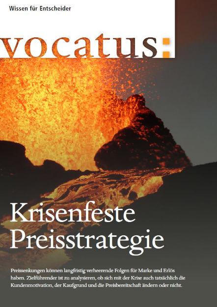 Wissen für Entscheider - Krisenfeste Preisstrategie - Preisstrategie, Vertriebsoptimierung, Behavioral Economics